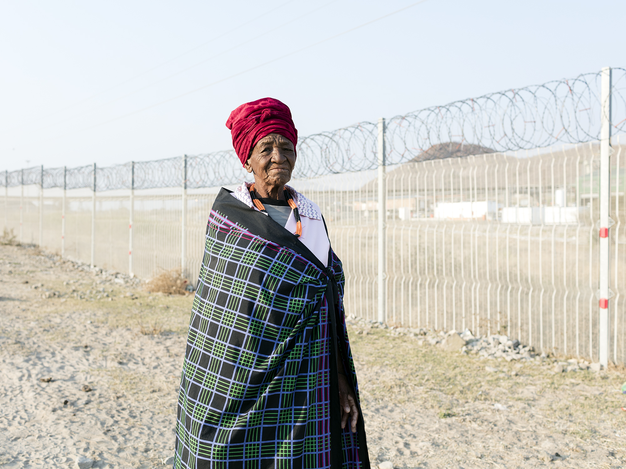 """Ntoyi Dorah Maphori, 71, """"It was better because there were no mines here"""", Dilokong area, Limpopo, Eastern Limb"""