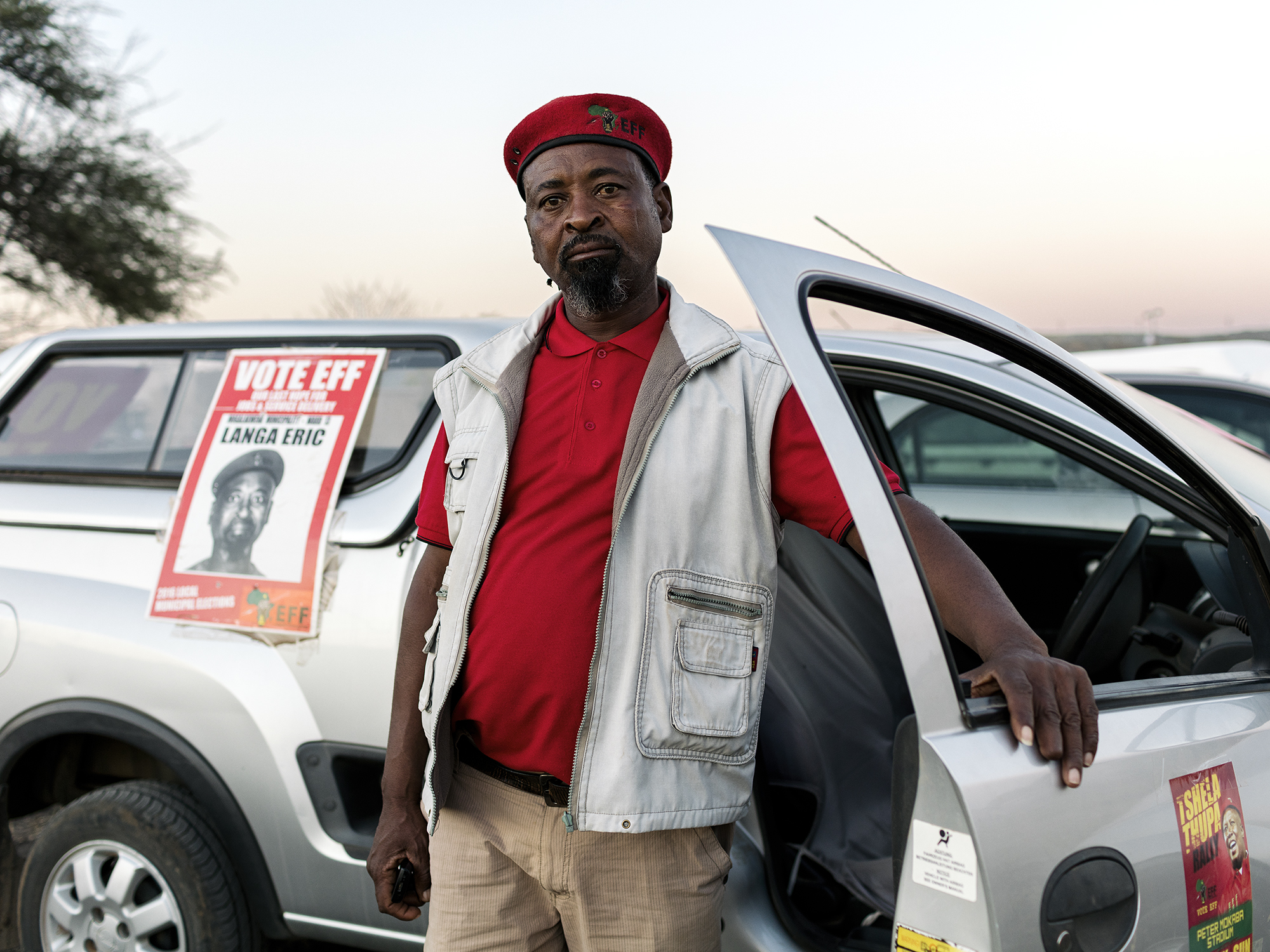 Eric Langa, 51, EFF Ward Councillor, Skimming Village, Mapela, Limpopo, Northern Limb